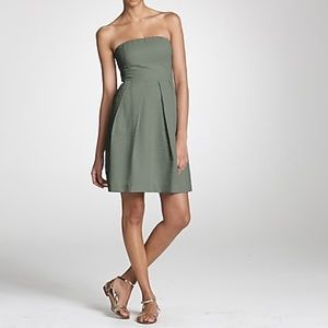 JCrew Strapless Gauze Sundress